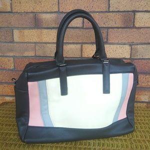 Steve Madden Color Block Satchel Handbag